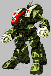 Macross Destroid Spartan 1 by ltla9000311