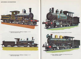Anglican and American Locos of Japan by SteamRailwayCompany
