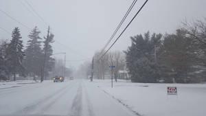 Snowy road by eternal1990