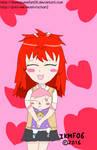 Oh Kyoko, you are so cute Full Colored by IkaMusumeFan06