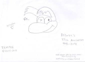 The Rayman 23th Anniversary by IkaMusumeFan06