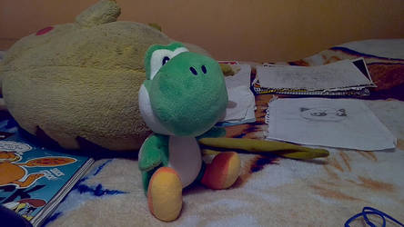 My Yoshi Plush by IkaMusumeFan06