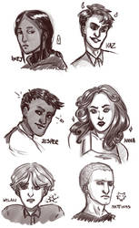 Six Of Crows by AnythingPrince