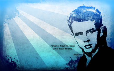 James Dean Tribute - Wallpaper by Romuleta