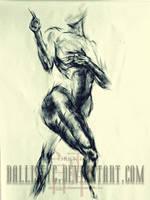 life drawing 7 by Ballistyc