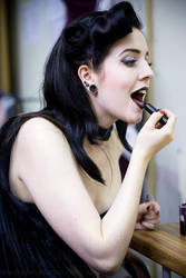 Backstage Burlesque 11 by wrightphoto