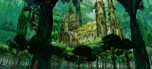 Ravnica Green by Fyreant
