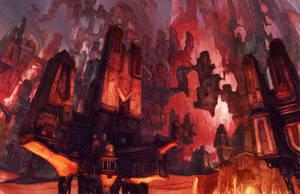 Ravnica Red by Fyreant