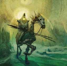 Bone Cavalier by Fyreant