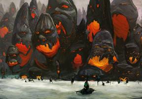 Cinder Wall by Fyreant