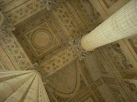 The Pantheon from Below by Fyreant