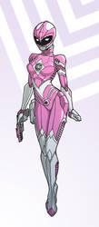 Pink Ranger by punkrockguy