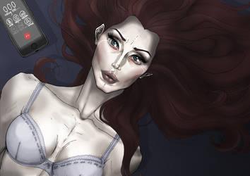 Cryingwoman by punkrockguy