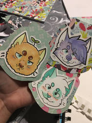 badge examples! by XWildheartX