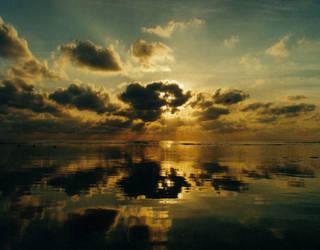 Ocean Sunrise by scotsman