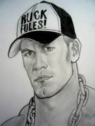 WWE John Cena by VinceArt