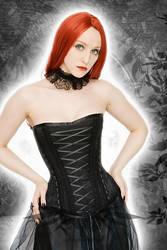 Dark Fairy Overbust Corset by azdaja