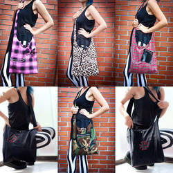 Bags, bags, bags and more bags by azdaja
