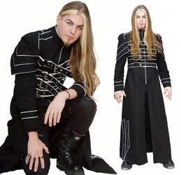 Cyberwraith Men's Coat by azdaja