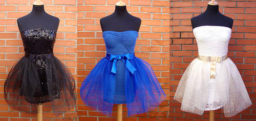 Prom Dresses by azdaja