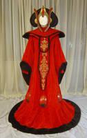 Queen Amidala's thronegown by azdaja