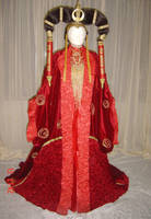Queen Amidala's senat gown by azdaja