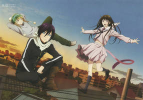 Noragami Anime Wallpaper HD by corphish2