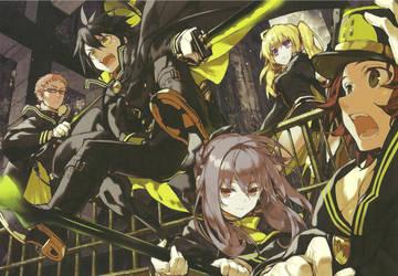 Owari no Seraph Wallpaper anime HD by corphish2