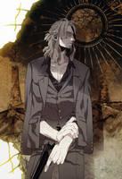 Gangsta Anime Worick Arcangelo Art by corphish2