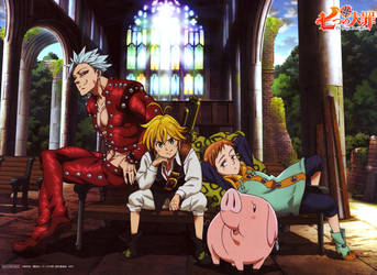 Nanatsu no Taizai / Seven Deadly Sins Wallpaper HD by corphish2