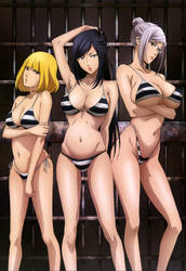 Prison School Kangoku Gakuen Artwork HD by corphish2