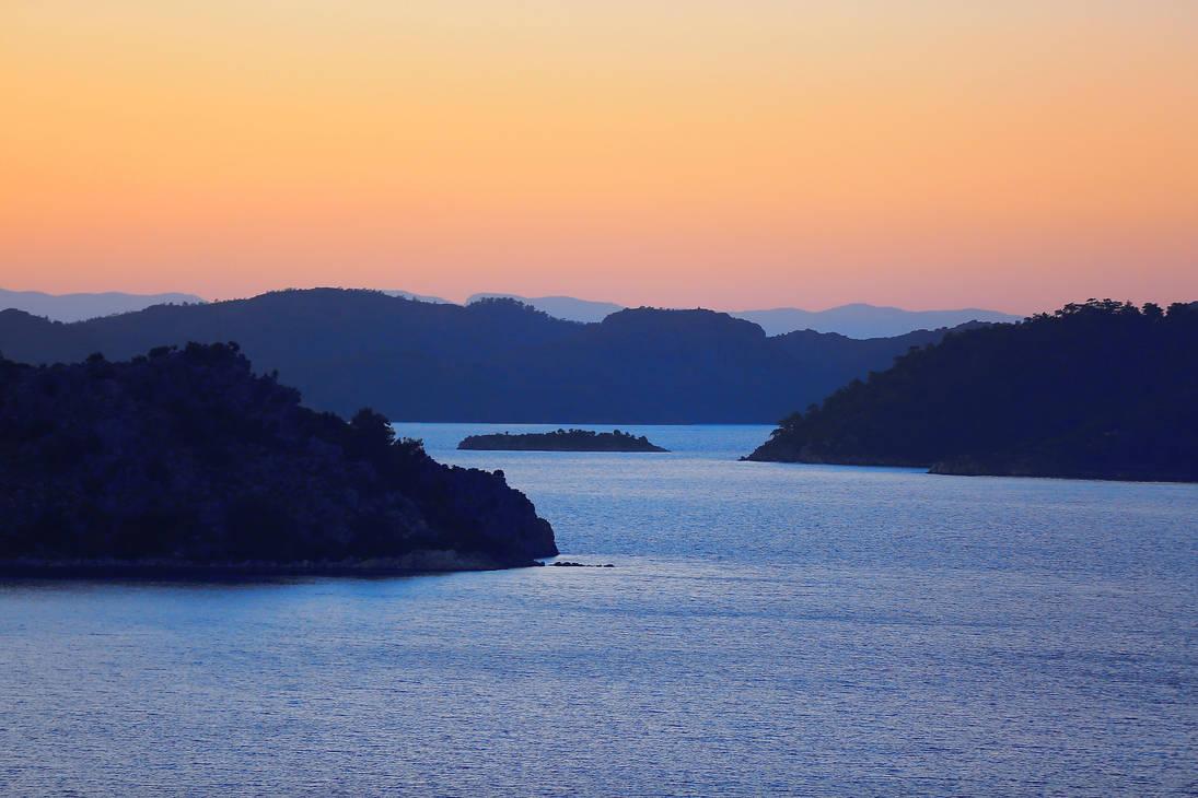 silence after sunset by ekin06