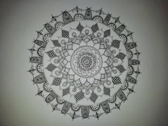 Mehndi Mandala by Eyespiral