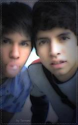 Two boys by Terrami