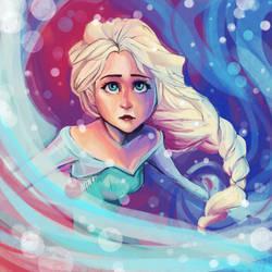 Elsa of Arendelle by sleepy-KC