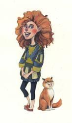 Ginger Friends by sleepy-KC