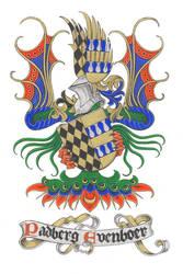 heraldic bookplate by Behydezell