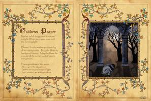 Goddess Prayer by Brightstone