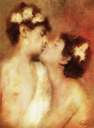 Edoardo and Vincenzo, First Kiss by Brightstone