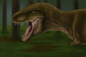 T-Rex by AshesDrawn