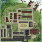 Map Commission - ACEAR KENNELS by Belle980
