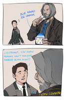 DBH: Hank No! by AcceCakes