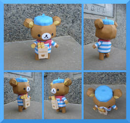 P0055 French Teddy Bear. by julofi