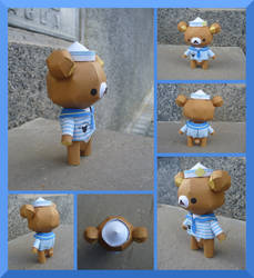 P0058 Sailor Bear Teddy by julofi