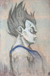 Vegeta Card by satoita