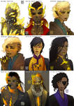 [SILM] through the ages. by esquitor