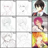 freefree hizunarumika switchmeme by Narurinya