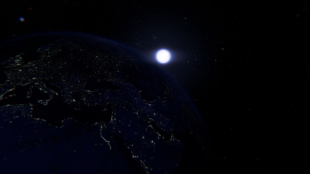 Night Earth by dlprentice