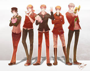 APH: Allies by Mano-chan