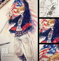 APH : Sochi 2014 USA by Mano-chan